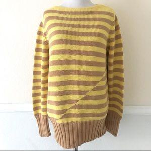 J. Crew Women's Striped Cotton Sweater